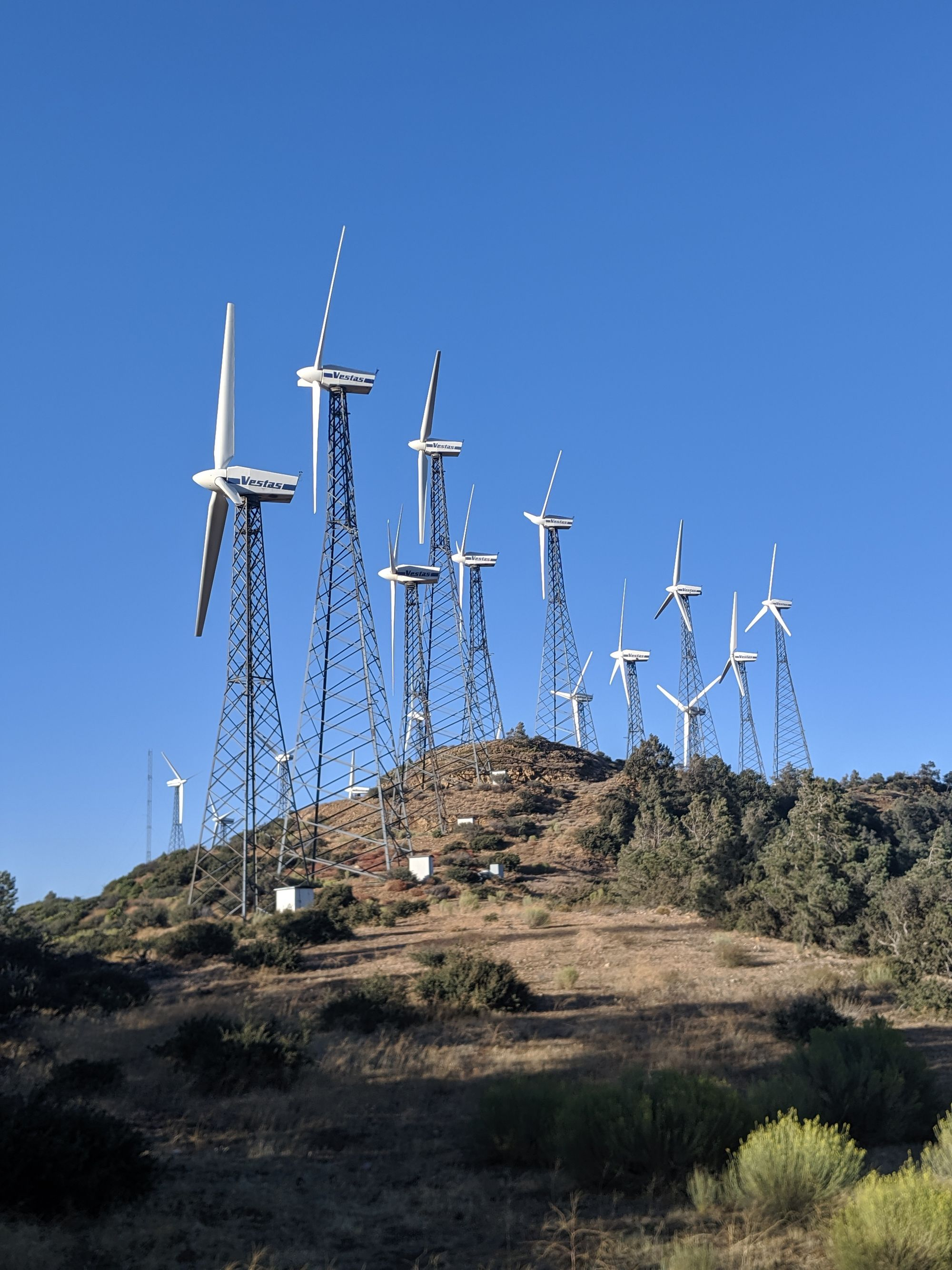 Tehachapi windfarms