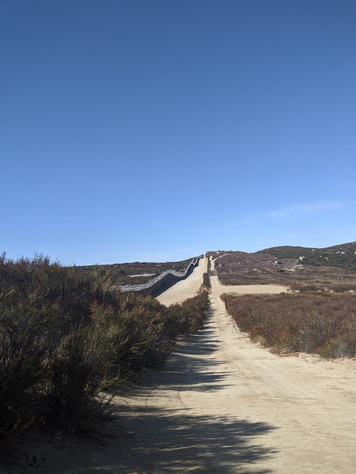 PCT SoBo Section A - Warner Springs to Campo & Mexican Border